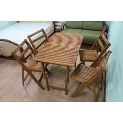 Стол дачный со стульями