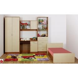 Детская мебель Веселка с кроватью