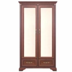 Шкаф (2-х дверный с зеркалом) Ш-1477